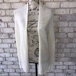 Hollister open mesh cardigan